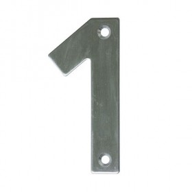 Números para pistas de minigolf en acero inoxidable 1 e 11