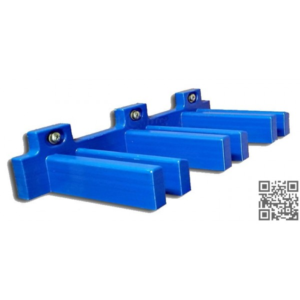 Soporte de PVC par palos de minigolf