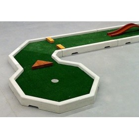 Mini Golf prefabricado de hormigon