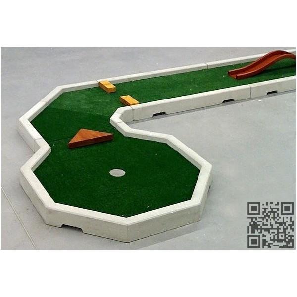 Mini Golf prefabricado de hormigon